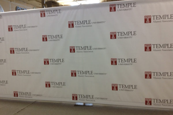 Step Repeat Banner