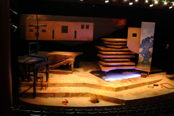 Theater Set with Real Pond